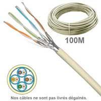Câble FFTP cuivre grade 3 / 3+